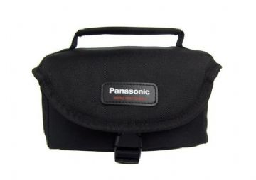 Panasonic VW-PS55XE-K Horizontal Polyester Camcorder Case - Black 200 300 Series